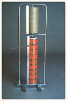 Portabobina vertical dos medidas
