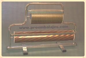 Portabobina mostrador 2 bobinas