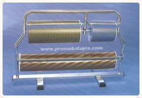 Portabobina mostrador 3 bobinas